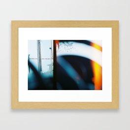End of Film Roll Framed Art Print