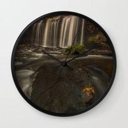 Cascade Falls Wall Clock