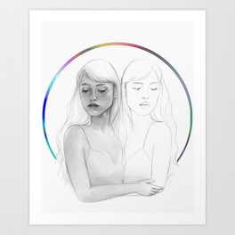 Emotional Calibration Art Print
