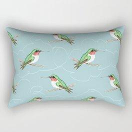 Hummingbird Jewel Rectangular Pillow