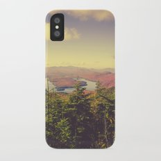 Endless Mountains Forever Wild Slim Case iPhone X
