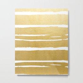 Gold Vibes Only #society6 #decor #buyart Metal Print