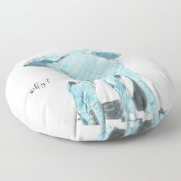 Mama elephant Floor Pillow