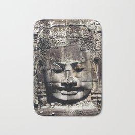 Bayon Temple Angkor Thom Siem Reap Cambodia Bath Mat