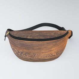 Old wood texture Fanny Pack
