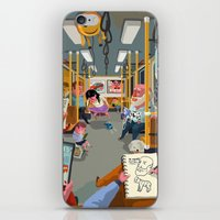 budapest iPhone & iPod Skins featuring Budapest underground by Zsolt Vidak