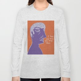 I love and miss you very much Long Sleeve T-shirt