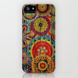 Kashmir on Wood 01 iPhone Case