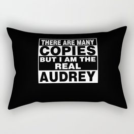 I Am Audrey Funny Personal Personalized Gift Rectangular Pillow