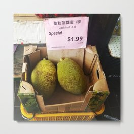 Jackfruit at the Chinese Market Metal Print