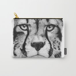 Cheetah face Carry-All Pouch