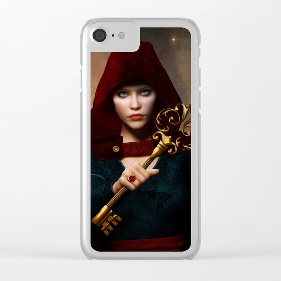 Key of wisdom Clear iPhone Case