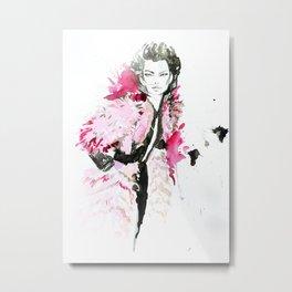 Pink fashion Metal Print