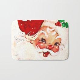 Vintage Santa 4 Bath Mat