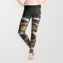 Suspicious mugs Leggings