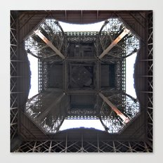 Under Eiffel HDR Canvas Print