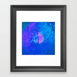 Abstract Mandala 202 Framed Art Print
