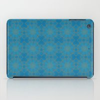 coasters iPad Cases featuring Gold Lace on Blue by Lena Photo Art
