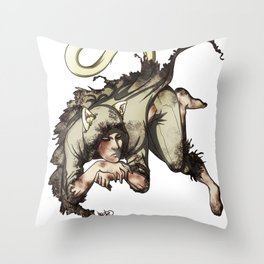 The Kitty Within [Ruvik] Throw Pillow