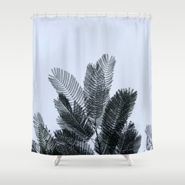 Leaves in the afternoon part 1 #eclecticart Shower Curtain