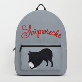 Shipwrecke (Gray and Red) Backpack