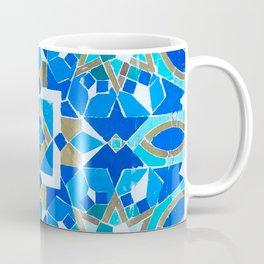 Moroccan Tile - Zellige - Cobalt Coffee Mug