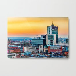 City Tower Manchester Metal Print