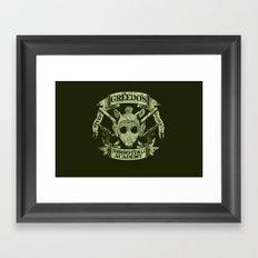 Greedo's Shooting Academy - Star Wars Framed Art Print
