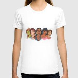 DREAMWORKS HEROINES T-shirt