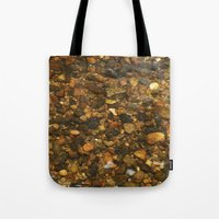 cassia beck Tote Bags featuring Beck #5 by Emma Conner