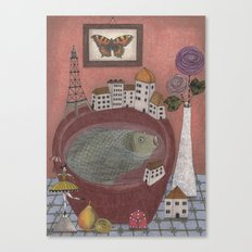 Still life with Gooseberry Canvas Print