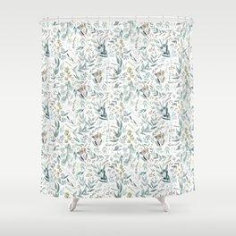 Little Eucalyptus Shower Curtain