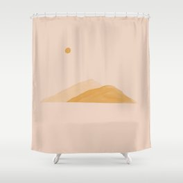 In A land Where Hope Flows Freely. Shower Curtain