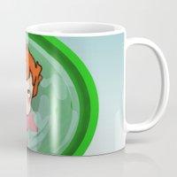 ponyo Mugs featuring Ponyo  by SamIAmTheSam