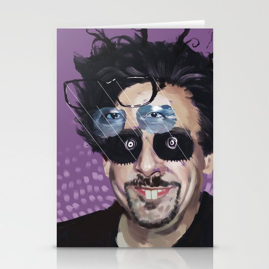Tim Burton Stationery Cards