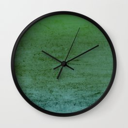 Sea Foam Textured & Distressed Gradient Wall Clock