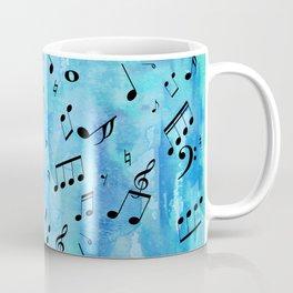 More Blue Music Coffee Mug