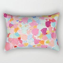 Amoebic Confetti Rectangular Pillow