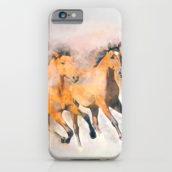 Horses iPhone & iPod Case