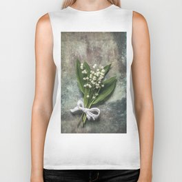 Beautiful Lily Of The Valley Biker Tank