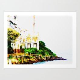 Prison Island Art Print