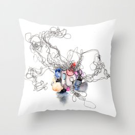 Keep It Together  Throw Pillow