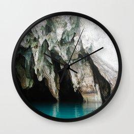 Rocks Under Wall Clock