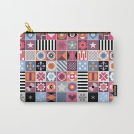 Abstract Geometric Pattern #511 Carry-All Pouch