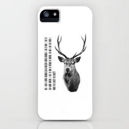 OHD - Obsessive Hunter disorder iPhone Case