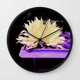 Lonesome Fower Wall Clock
