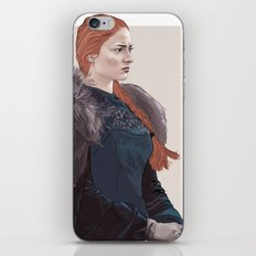 The Northern Girl - Game of thrones character study iPhone & iPod Skin