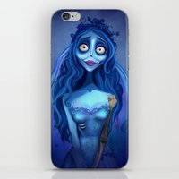 emily rickard iPhone & iPod Skins featuring Emily  by Niniel