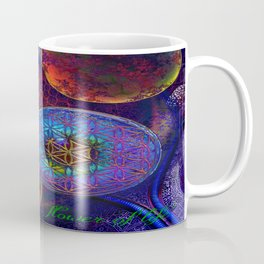 Sheikh Lutfollah Mosque Flower Coffee Mug