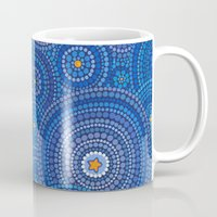 starry night Mugs featuring Starry Starry Night by Elspeth McLean